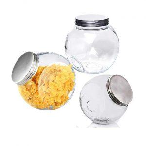 γυαλινο-βαζο-για-μπισκοτα-και-αποθηκευση-με-μεταλλικο-καπακι
