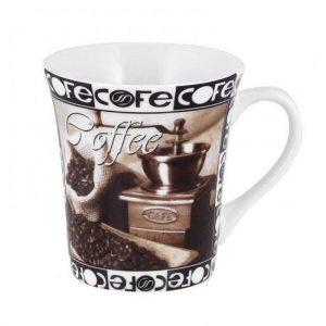 κουπα πορσελανης καφε με σχεδιο coffee