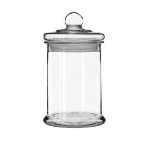 γυαλα με γυαλινο καπακι αεροστες καπακι 2.5 και 4 λιτρα για γλυκα
