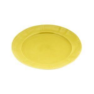 πιατο stoneware ρηχο κιτρινο 27εκ