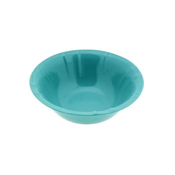σαλατιερα stoneware στρογγυλη χρωμα μεντα