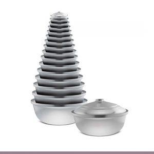 επαγγελματικη κατσαρολα αλουμινιου σε διαφορα μεγεθη - χυτρα ττ τουρκαλα