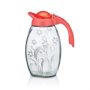 κανατα-νερου-γυαλινη-1.7-λιτρα-με-σχεδιο-κοραλι-καπακι