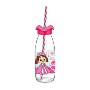 παιδικο μπουκαλι με καλαμακι και καπακι 250 ml