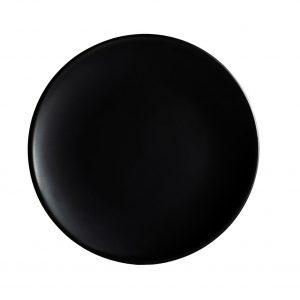 πιατα-μαυρα-ματ-στρογγυλα-stoneware-elite