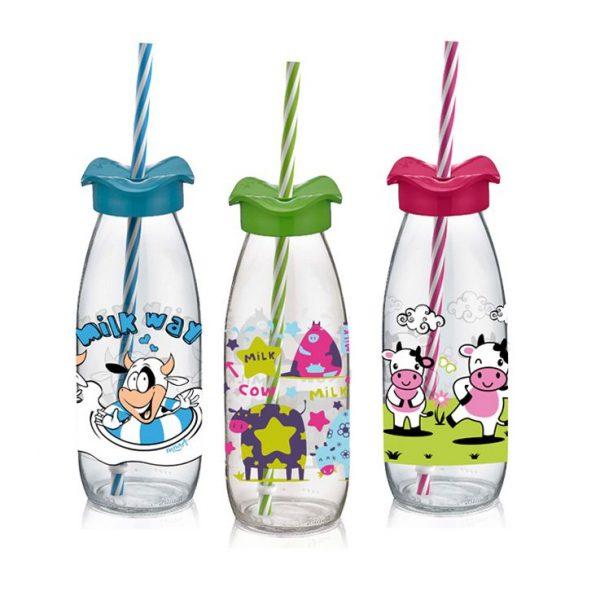 παιδικα ποτηρια με καλαμακι γυαλινα