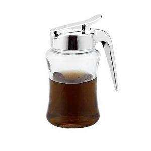μελιερα δοχειο για μελι γυαλινο με καπακι