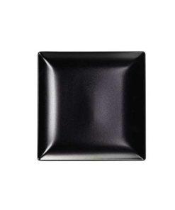 πιατο τετραγωνο μαυρο ματ elite