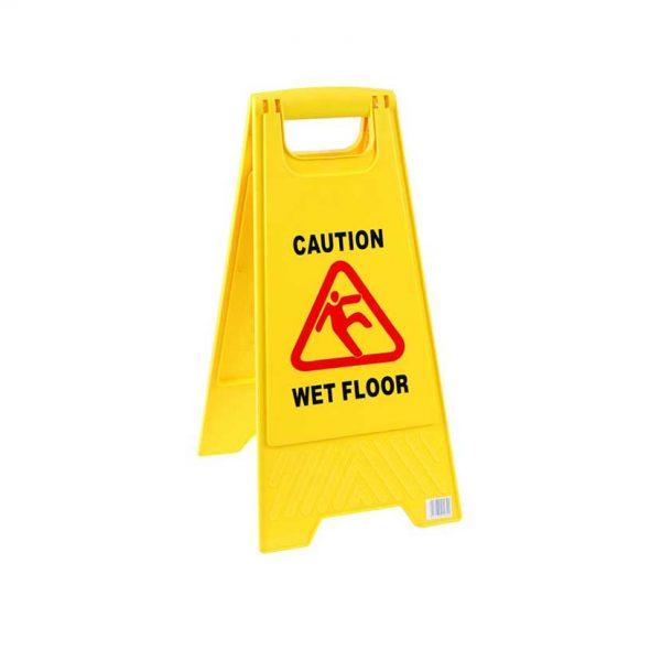 wet floor πινακιδα