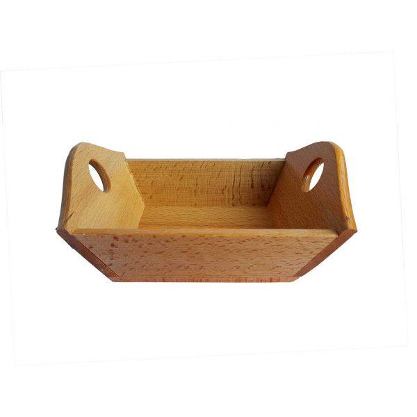 Ψωμιερα ξυλινη σκαφακι