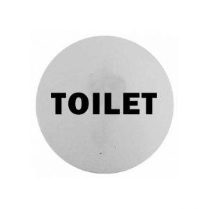 πινακιδα-inox-toilet-στρογγυλη