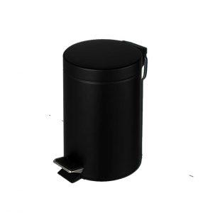χαρτοδοχειο-μαυρο-ματ-με-πενταλ-υδραυλικο