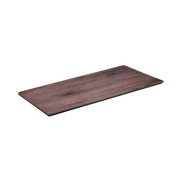 πιατελα μελαμινης πλατω σε οψη ξυλου