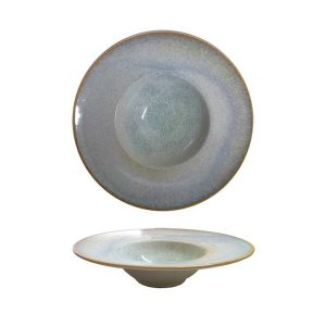 πιατο ζυμαρικων μοντερνο granite πορσελανη