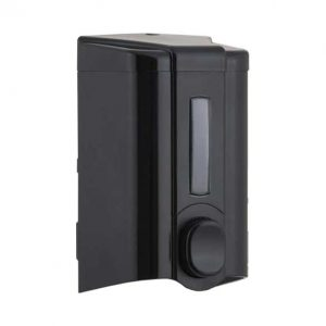 συσκευη-για-κρεμοσαπουνο-τοιχου-μαυρο-500ml
