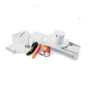 μαντολινο κουζινας με 6 μαχαιρια