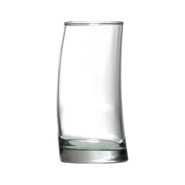 ποτηρι γυαλινο μοντερνο νερου καφε φραπε surf