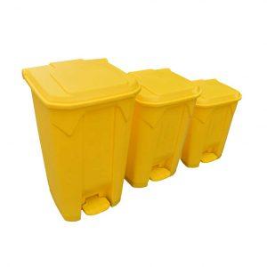 κιτρινος καδος για μολυσμενο υλικο hazard