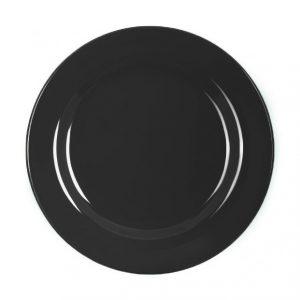 πιατο-μελαμινης-στρογγυλο-μαυρο
