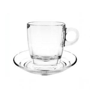 γυαλινο φλυτζανι καπουτσινο caffee premio