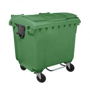 καδος-απορριμματων-με-4-ροδες-πρασινος-μεγαλος-με-πενταλ-1100-λιτρα