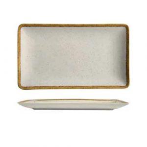 modern rectangular plate ivory