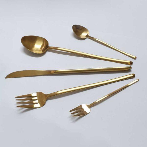 χρυσα σετ μαχαιροπηρουνα stick gold
