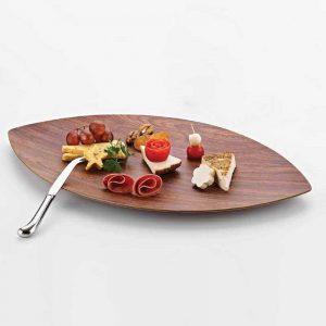 Ξύλινα πιάτα φαγητού