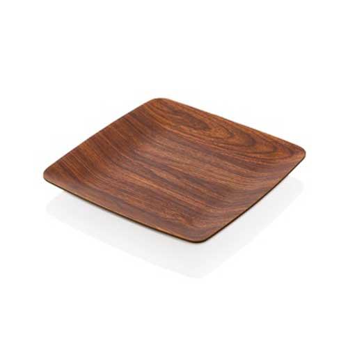 πιατο τετραγωνο ξυλο